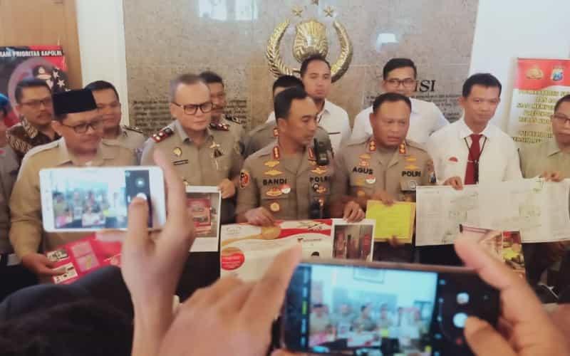Polrestabes Surabaya Ungkap Penipuan Berkedok Investasi Perumahan